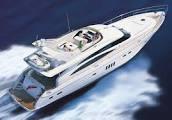 Princess Yacht underway.